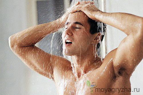 Принимаем душ