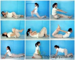 Разные упражнения для спины