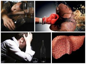 Влияние алкоголя на возникновение цирроза печени